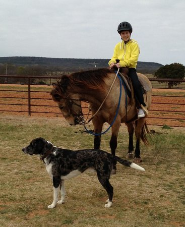 Wildcatter Ranch: First trail ride