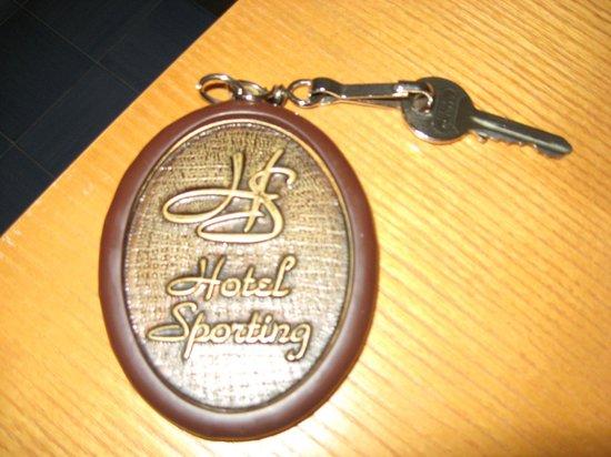 Hotel Sporting: Key fob