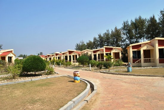 Resort Hirak Jayanti : Hotel View
