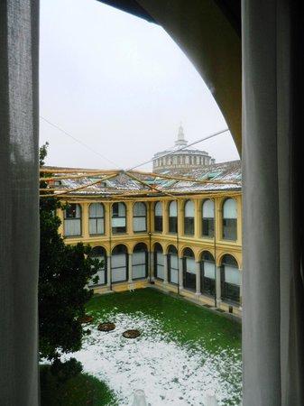 Palazzo Delle Stelline: View towards Santa Maria delle Grazie