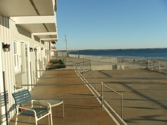 Lafayette's Oceanfront Resort : View from the room