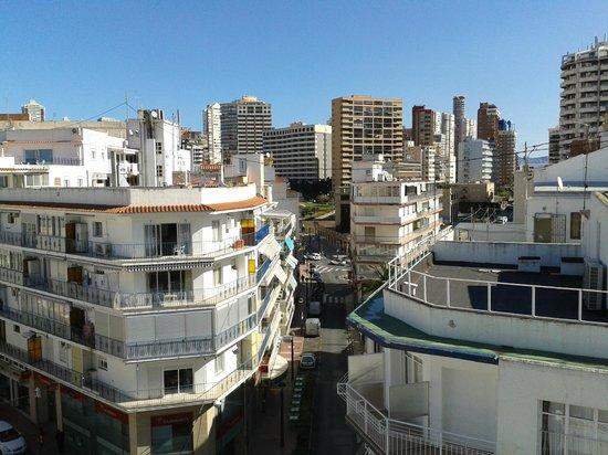 Estudios Benidorm: View towards town