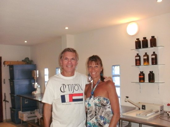 Tijon Perfume Creation Experiences: Owners John & Cindi