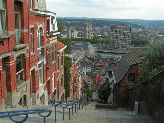 Льеж, Бельгия: Les escaliers qui gravissent la montagne