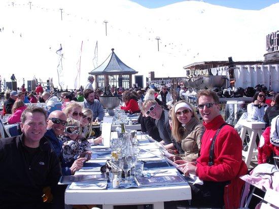 La Folie Douce : Lunch in La Fruiterie