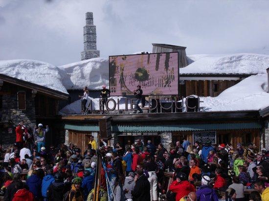 La Folie Douce : Apres ski dancing