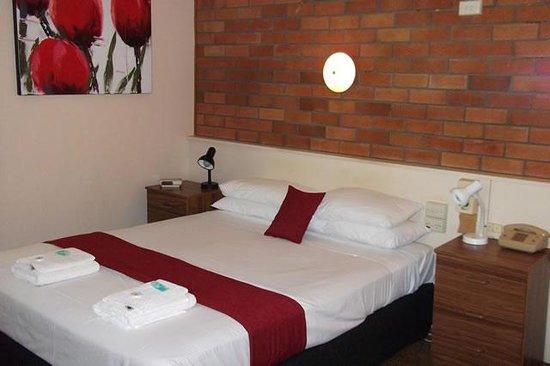 Hilldrop Motor Inn : queen bed
