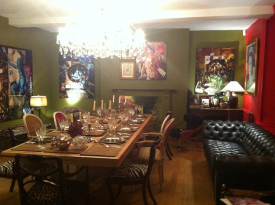 Oak House No1: The dining room