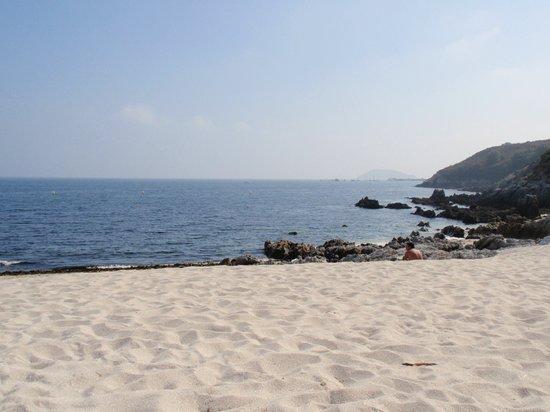 Playas de la Isla de Ons: Playa de Melide