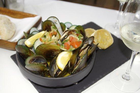 Yummy Green Lip mussels
