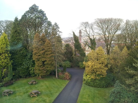 Astley Bank Hotel: view from room
