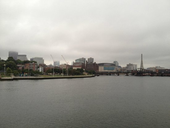 Spirit of Boston: View of the Harbor during the cruise