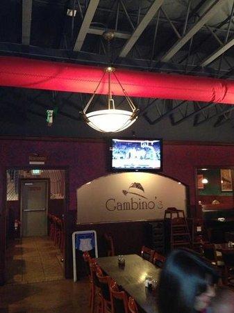 Gambino's: Inside Restaurant