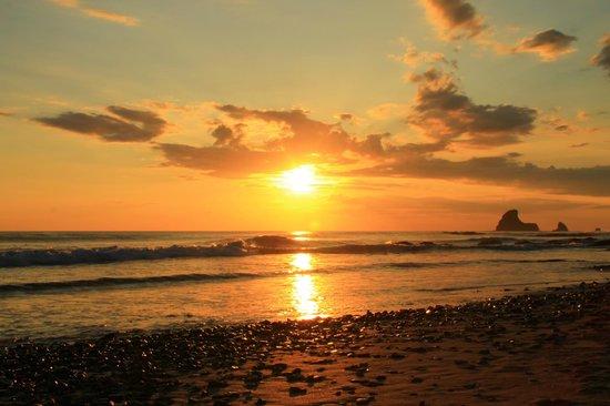 Hostel Clandestino: Sonnenuntergang Maderas