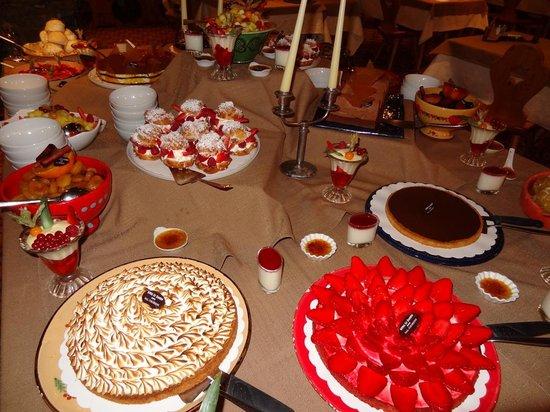 Hotel Le Sherpa - Val Thorens: desserts du grand chef pâtissier