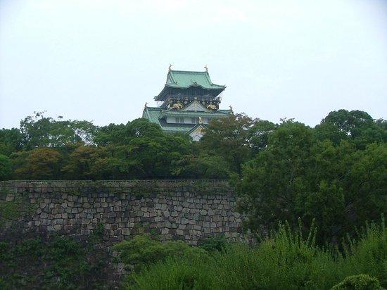 Hotel New Otani Osaka: View of the castle nearby