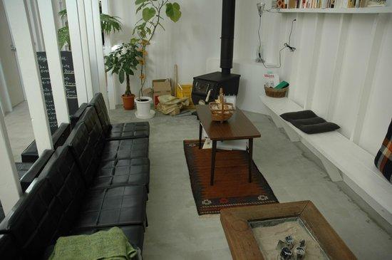 Koyasan Guest House Kokuu : living place
