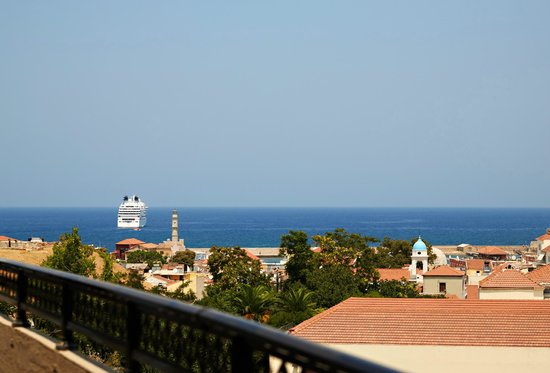 Arkadi Hotel: View from room