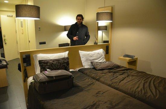 Rafaelhoteles Forum Alcala: Amplia y cómoda habitación