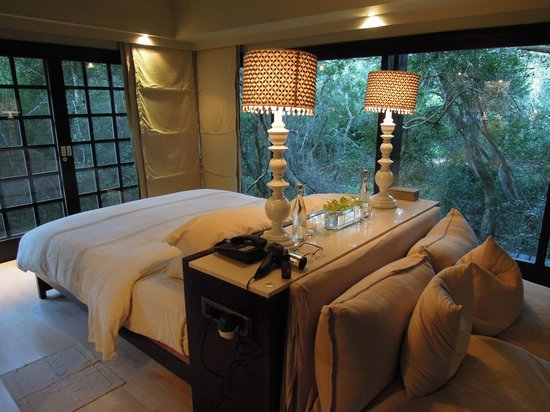 andBeyond Phinda Mountain Lodge: Phinda Forest Lodge bedroom