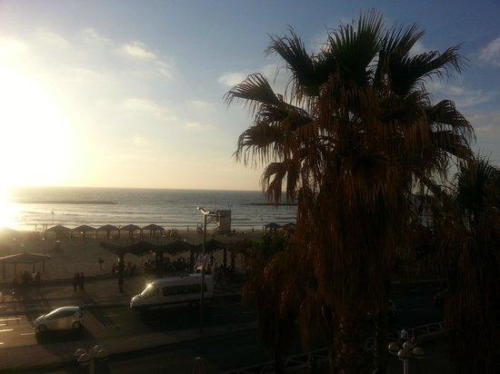 Golden Beach Hotel by Arcadia Hotels: vue depuis notre balcon