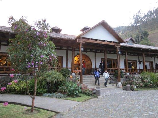 Hacienda Leito: Main entrance