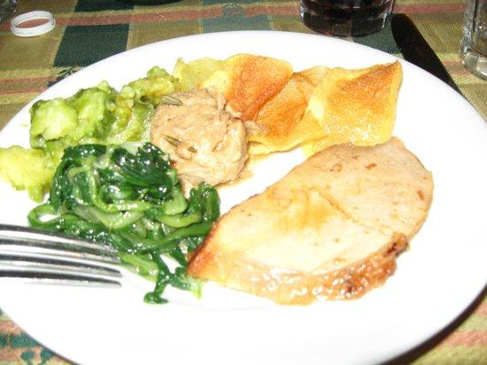 Trattoria Der Pallaro : Secunda - beef & veal w/zucchini, spinach, and potatoes