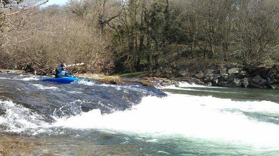 Active Adventure South West: The river Barle.  Photo taken by Dave Jackson.