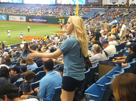 Tropicana Field: Rays Dancer