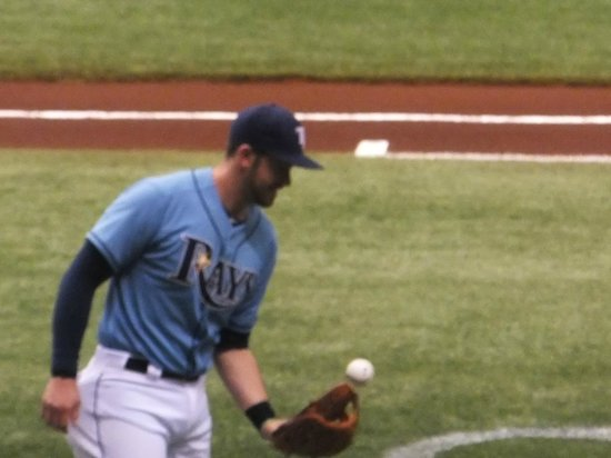 Tropicana Field: Evan Longoria