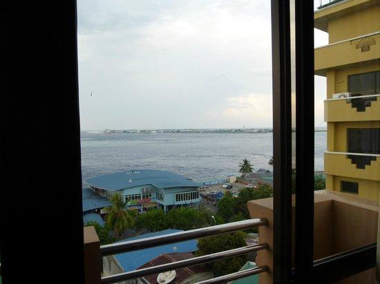 Relax Inn Hotel: vista dal 9 piano