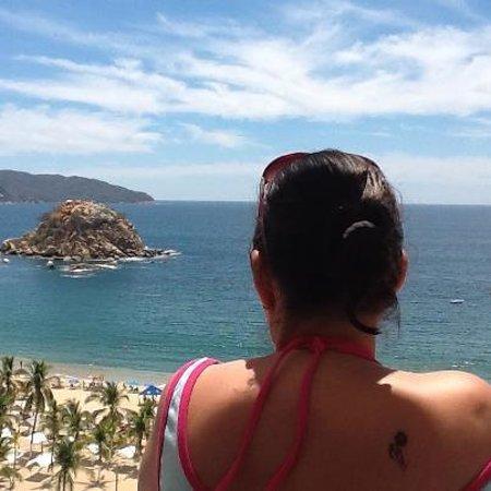 Emporio Acapulco Hotel: vista desde mi habitación