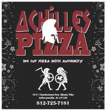 Achilles Pizza : Logo