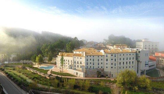 Alhama de Aragon, Испания: Fachada Retocada