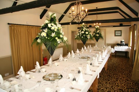 Sibson Inn Hotel: the reception room