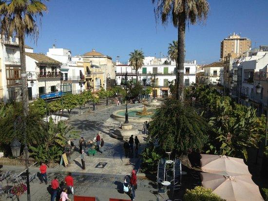 Hotel Barrameda: Main town square