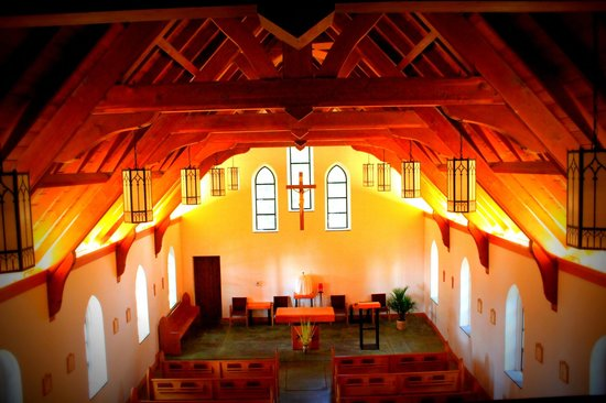 Juneau, AK: inside the chapel