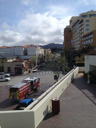 Monterey Marriott, on the right.