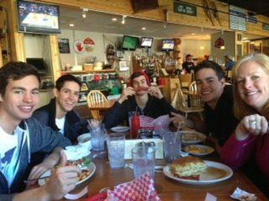 Haywood Cafe: Bacon Mustache @ Haywood!
