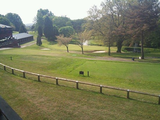 Macdonald Hill Valley Hotel, Golf & Spa: View from our window