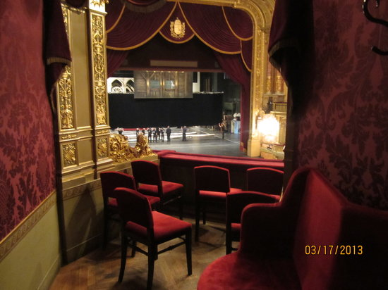 View from box seat - Picture of Hungarian State Opera ...