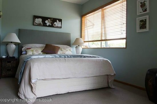 Ashfields Country Garden Bed and Breakfast: The comfortable and roomy bedroom