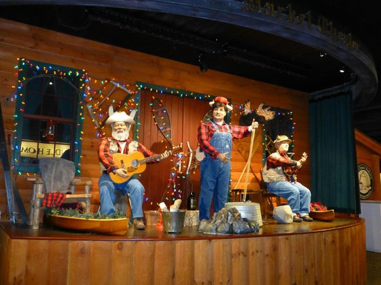 Yankee Candle Flagship Store: animated band