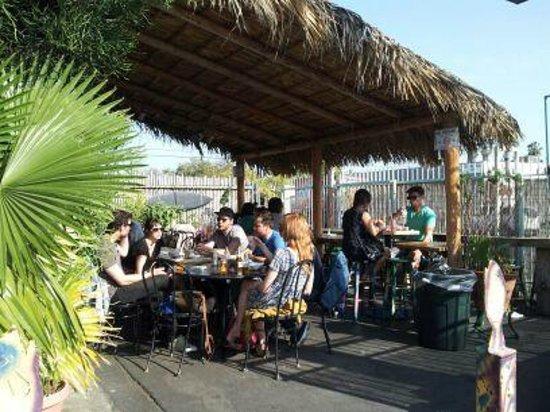 Best Fish Tacos in Ensenada: People enjoying their meals