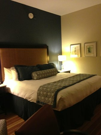 InterContinental Hotel Tampa: King size bed
