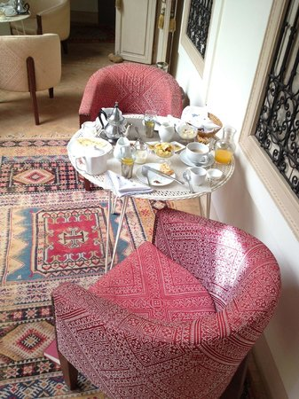 Riad Al Massarah: Breakfast on the terrace