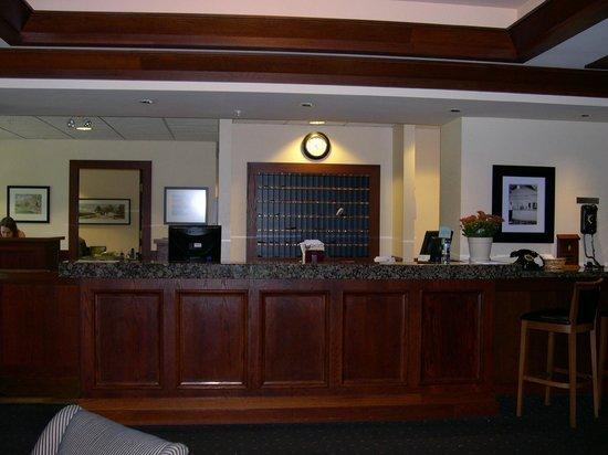 Sylvia Hotel : Check-in Desk