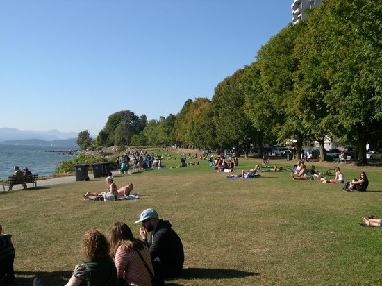 Sylvia Hotel: English Bay beach and park