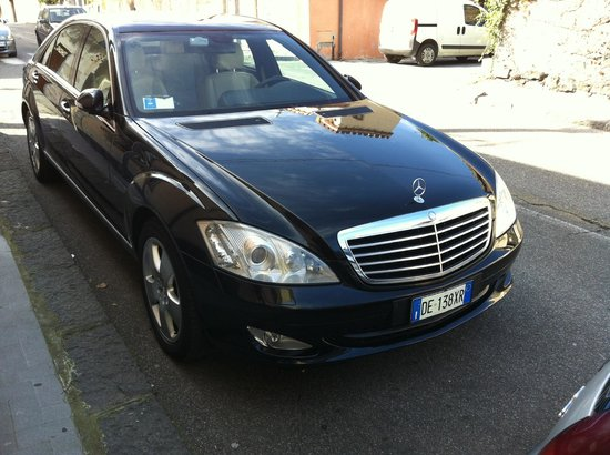 Sicily Driver Guides: Mercedes S