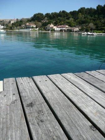 Iles de Lerins: Sitting on the jetty